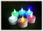12/24 PCS Flameless Battery LED Tea Light Tealights Candles