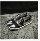 Korean Men's Shoes Pumps Metal Loafers Tassel Slip On Flats Casual Sneakers New