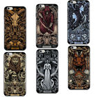 Fortunately Twelve Constellations Clear Pattern Soft Silicone Phone Case