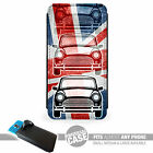UNIVERSAL FIT Printed Phone Case Cover : Classic Mini Union Jack Austin Cooper