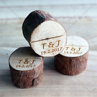 PERSONALIZED Wedding Decor Wood Table Number Photo Postcard Guest Card Holder