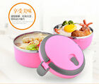 Stainless Steel Thermos Bento Lunch Box Food Container Lunchbox Portable Hot
