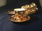 Choice of Royal Crown Derby Imari Pattern 2457 1908/1910 Espresso Cup Saucer VGC