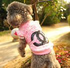 Fashion Lace Dog Shirt Pet Shirt Clothing for Small Pets XXS XS S M L