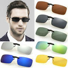 Polarised Clip-on over sunglass glasses eyeglass spectacle Polarized  Lens