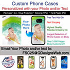 Custom Personalized Photo Selfie Collage Phone Case for iPhone 6s or iPhone 6
