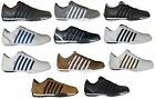 K SWISS BNWT TRAINERS ARVEE LACE UP  IN WHITE BLACK GREY BROWN CLEARANCE PRICE !