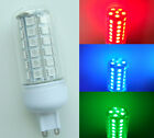 G9 LED bulb 48-5050 SMD Lamp Red/Green/Blue 110V/220V with cove NEW