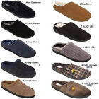 New Mens Slip On Luxury House Mules Comfort Classic Slippers Shoes Sizes Uk 6-12