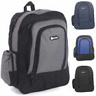 Hi-Tec Rucksack Ideal for Camping and School Black/Grey HT-9012