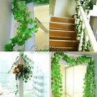 20 Artificial Ivy Leaves Garland Plants Vine Fake Flower Xmas Wedding Home Decor