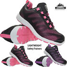 LADIES GROUNDWORK LIGHTWEIGHT STEEL TOE CAP SAFETY TRAINERS WOMENS WORK SHOES SZ