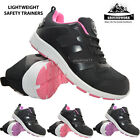 NEW LADIES GROUNDWORK LIGHTWEIGHT STEEL TOE CAP SAFETY SHOES WOMENS WORK TRAINER