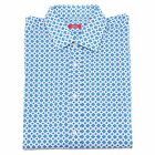 2449P camicia bianca-blu ALTEA uomo shirts men