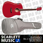 Tanglewood Discovery DBT Dreadnought CE Acoustic Guitar Matte Red *BRAND