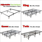 Platform Bed Frame Twin Full Queen King Foldable No Box Spring Needed