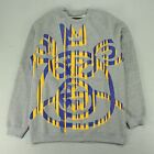 Mishka Bear Crew Sweatshirt In Grey Sizes S