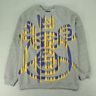 Mishka Bear Crew Sweatshirt In Grey Sizes S,M.