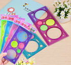 4x Spirograph Ruler Kit Funny Gift Spiral Art Tool Gear Classic Drawing Toy #239
