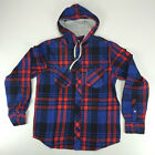 Element Arroyo New Hooded Long Sleeve Shirt Navy size S M L