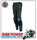 Richa Mugello SHORT Leather Motorcycle Motorbike Trousers - Black