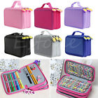 Pencils Portable Drawing Sketching Pencils Pen Case Holder Bag for 52Pcs 72 Pcs