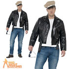 Adult 1950s Rebel Costume Mens Plus Size Fancy Dress Outfit New