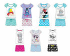 Ladies Girls Shortie Ariel Wonder Woman Minnie Tatty Eeyore Novelty Pyjams 8-22