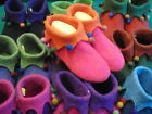 "Hand-made woollen Felt slippers ""SLOOPERS"" size 41-UK 7"