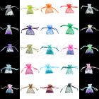200X Strong 5*7CM Organza Pouch H Shape Wedding Party Favor Gift Candy Bag Color
