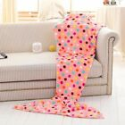 Kids/Adult Mermaid Sleeping Bag Air Condition Tail Soft Blankets New 3 Colors