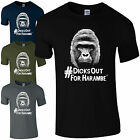 Dicks Out For Harambe T-Shirt - RIP Gorilla Cincinnati Zoo Hashtag Mens Gift Top