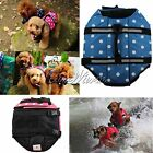 1X Summer Pet Dog Life Jacket Aid SAFETY VESTS Coat Flotation Buoyancy Swimming