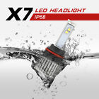 120W 9600lm 9007 HB5 H4 LED Car Headlight Bulbs Headlamps Bulbs Light