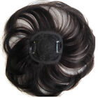 3.3''*3.3'' 100% Human Hair Topper With Clips Closures Fringe Top Replacement