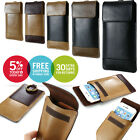 Sport Running Jogging Leather Wallet Carry Pouch Sleeve Case Bag For Cell Phone