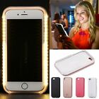 Luxury LED Light Up Flash Selfie Luminous Phone Cover Case for iPhone 6 6S Plus