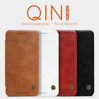 Nillkin New Luxury Qin Series Flip Leather Wallet Case Cover For LG Nexus 5X