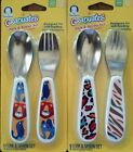 Gerber Graduates Fun Pack Fork Spoon Set Baby Feeding Kitchen Utensils BPA-free