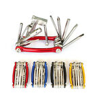New 11-In-1 Multi-function Bike Bicycle Wrench Chain Cutter Repair Tools Set Kit