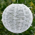 """6 pack 12"""" Floral Lace Lanterns Lamp Shades Party Supplies Wedding Decorations"""