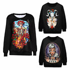 Stylish Mens Casual Crew Neck Long Sleeved T-shirt Basic Tee Tops Blouse