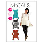 McCalls M6398 Easy Knit Sleeve Top Tunic inc PLUS SIZE Pattern 6398 4 in 1!