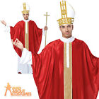 Adult Pope Costume Mens Deluxe Cardinal Religious Fancy Dress Outfit New
