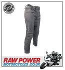 Richa LADIES Colorado Motorcycle Motorbike Trousers Jeans - Black (SHORT)