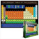 NEW 1000 PIECE JIGSAW PUZZLE PERIODIC TABLE OF THE ELEMENTS + 100 PC MINI PUZ