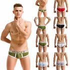Trunks Men's Boxer Briefs Pouch Bulge Cotton Underwear Shorts Bikini Underpants
