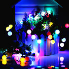 5M LED Globe Ball Automatic Color Changing Warm  white Fairy String   Lights