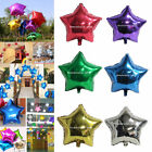 "5Pcs 10""Inch Five-pointed Star Helium Foil Balloon Party Wedding Birthday Decor"