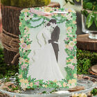 Green Personlized Laser Cut Wedding Party Invitation Cards Free Envelope Seals